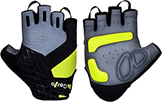 Da Corsa Cycling Gloves – Sport Gloves – Bike Gloves for Men and Women – High Performance Shock Absorption, Grip and Control – Half Finger Glove Design with Easy Off Loops