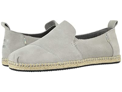 TOMS Deconstructed Alpargata Rope (Drizzle Grey) Men