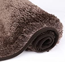 MAYSHINE Bath mat Runners for Bathroom Rugs,Long Floor mats,Extra Soft, Absorbent, Densely Woven Shaggy D8 Microfiber,Mach...