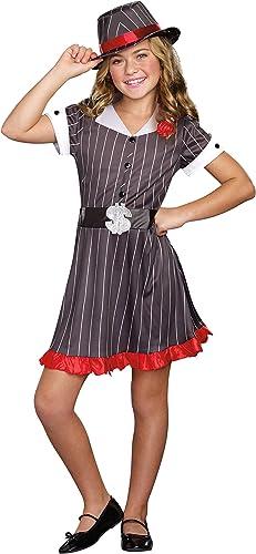 SugarSugar Girls Ally Capone Costume, Medium