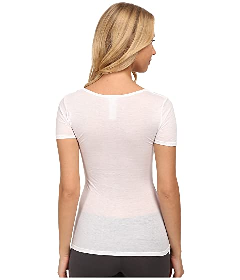 Pre Order Online Hanro Ultralight Short Sleeve Top White With Credit Card For Sale vwy5RdeEp