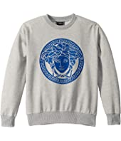 Versace Kids - Sweatshirt with Medusa Logo (Big Kids)