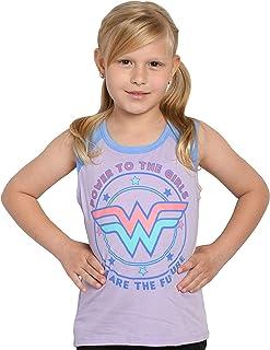 DC Comics Wonder Woman Girls Sleeveless T-Shirt Tank Top