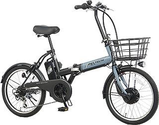 PELTECH(ペルテック) 折り畳み電動アシスト自転車 20インチ 折り畳み外装6段変速 (TDN-208) 【簡易組立必要品】