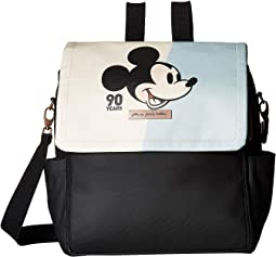 Mickey's 90th Blue Colorplane Boxy Backpack - Disney Collaboration