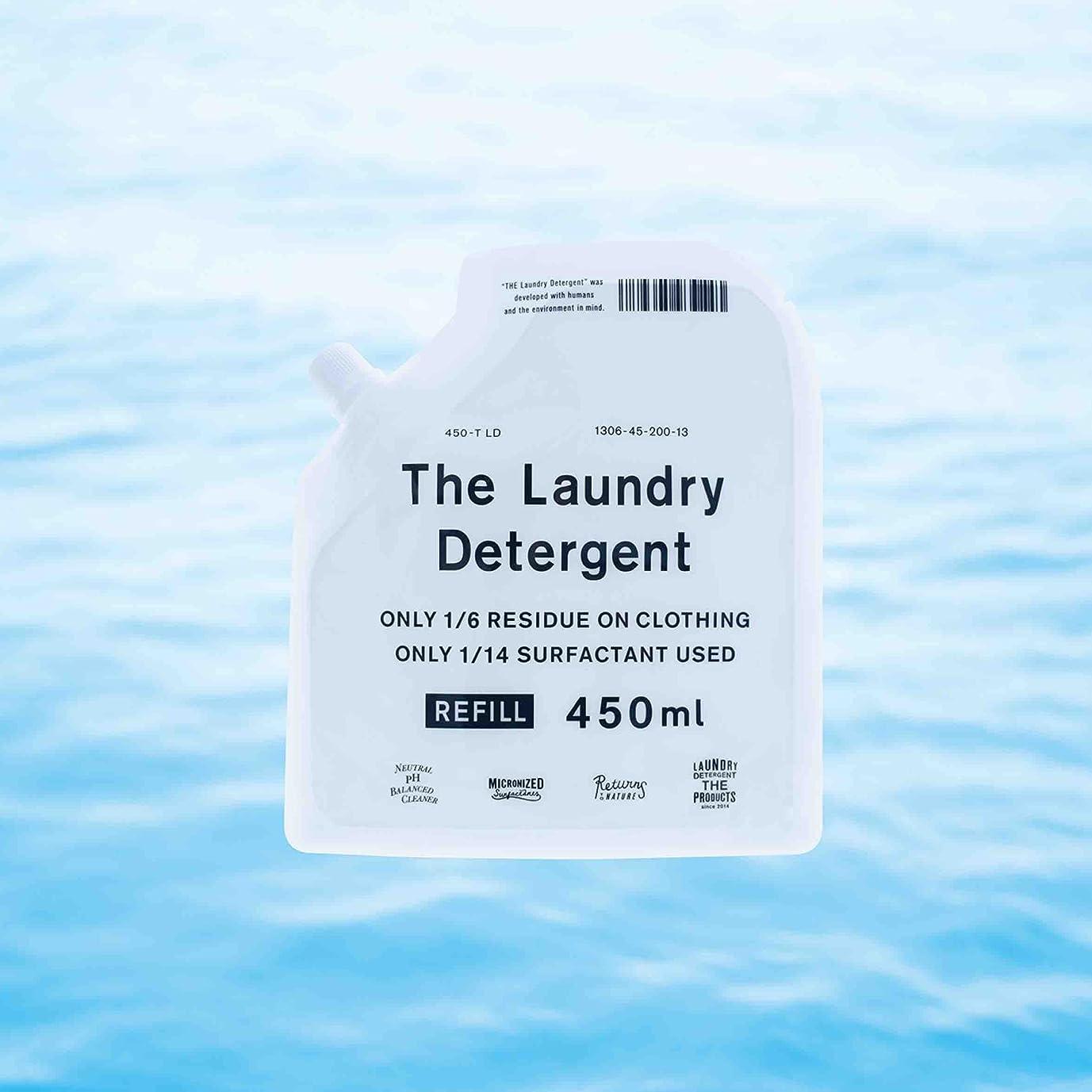 ジャズチャットもっともらしいTHE Laundry Detergent / ザ?洗濯要洗剤 詰替用 450ml 【3個セット】