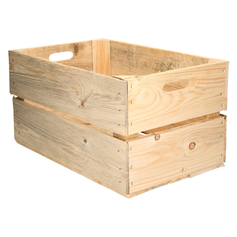 Caja de Madera diseño Fruta Cajas de Vino rústico Colonial: Amazon.es: Juguetes y juegos