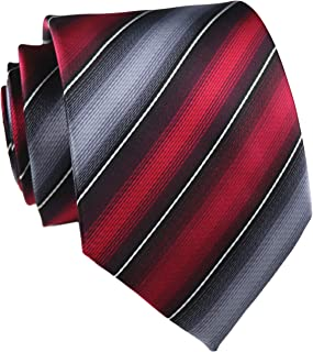Men's Gingham Check Stripe Ties Pattern Business Formal Designer Neckties 3.15""