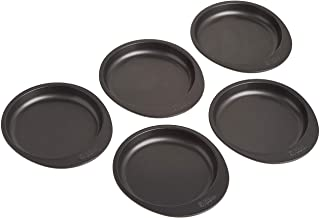 Wilton Easy Layers! 5-Piece Cake Pan Set, 6-Inch, Grey (2105-0112)