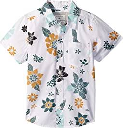 Quiksilver Kids - Sunset Floral Short Sleeve Top (Toddler/Little Kids)