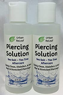 tea tree oil piercing aftercare