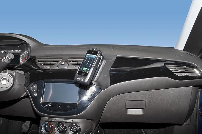 Kuda 1710 Halterung Echtleder Schwarz Für Opel Corsa E Elektronik