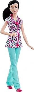 Barbie Careers Nurse Doll, Brunette, Teal