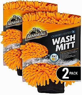 Armor All Luva de microfibra para lavagem de carro, limpador para insetos ou sujeira, para carros e caminhões e motociclet...