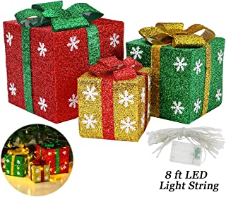 Best outside christmas boxes decorations Reviews