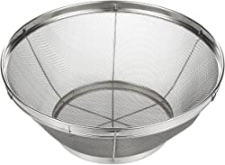 Stainless Steel Colander/Mesh Colander Strainer Basket