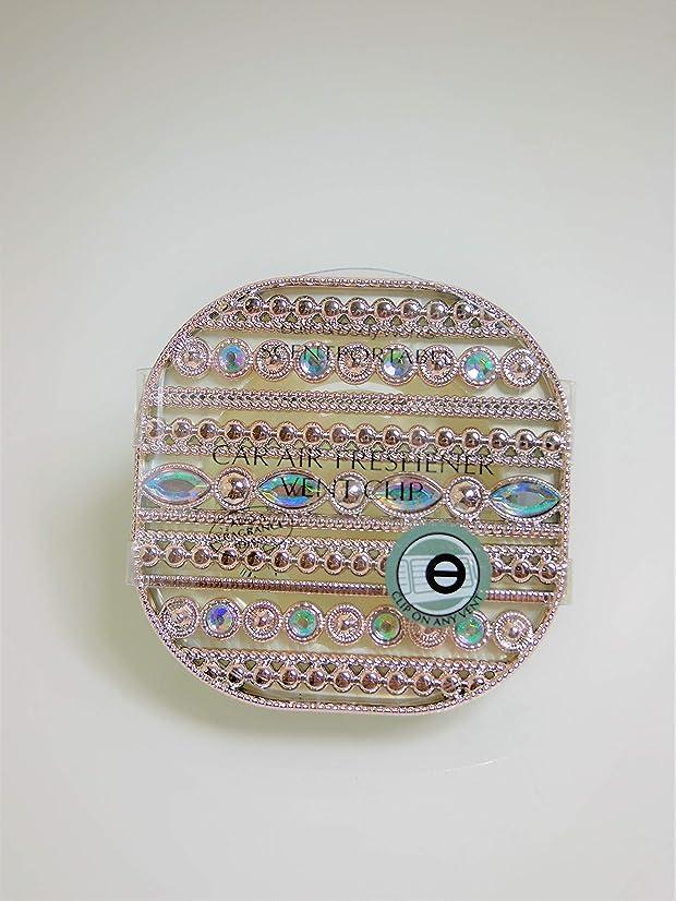 思い出させる祖母論争【Bath&Body Works/バス&ボディワークス】 車用芳香剤 セントポータブル ホルダー (本体ケースのみ) ジェムストーン Scentportable Holder Gemstone Vent Clip [並行輸入品]