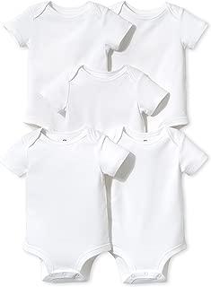 LAMAZE Baby Organic Essentials 5 Pack Shortsleeve Bodysuits