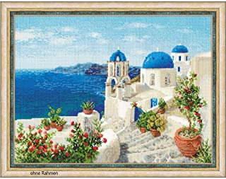 RIOLIS 1644 - Santorini - Counted Cross Stitch Kit 15¾