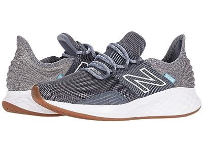 New Balance Kids Fresh Foam Roav (Little Kid) (Lead/Light Aluminum) Boys Shoes