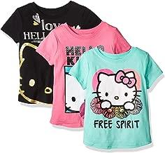 Hello Kitty Girls' Value Pack Tee Shirts