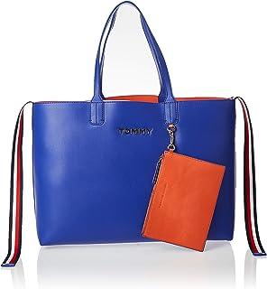 Tommy Hilfiger Tote Bag for Women-Blue/Orange
