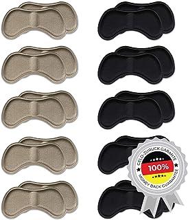 10 Parejas de Pegatinas de Talón | Almohadillas de Talón Autoadhesivas para Tacones y Zapatos/Suelas Acolchadas | Plantillas Taloneras útiles contra dolores y ampollas | Mix