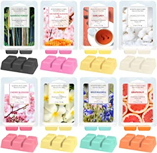 LA BELLEFÉE Scented Wax Melts,Cube Wax Melts,Floral Wax Melts,Candle Wax Warmer Melts,Wax Cubes for Home, Scented Natural ...