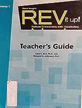 REV it up!: Teacher's Guide Grade 6 Course 1 2008 (Steck-Vaughn Rev It Up!)