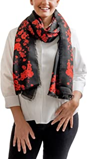 Givenchy GW7020 SE034 1 Black Scarf for Womens