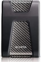 ADATA HD650 4TB USB 3.1 Shock-Resistant External Hard Drive, Black (AHD650-4TU31-CBK)