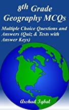 8th Grade Geography MCQs: Multiple Choice Questions and Answers (Quiz & Tests with Answer Keys)