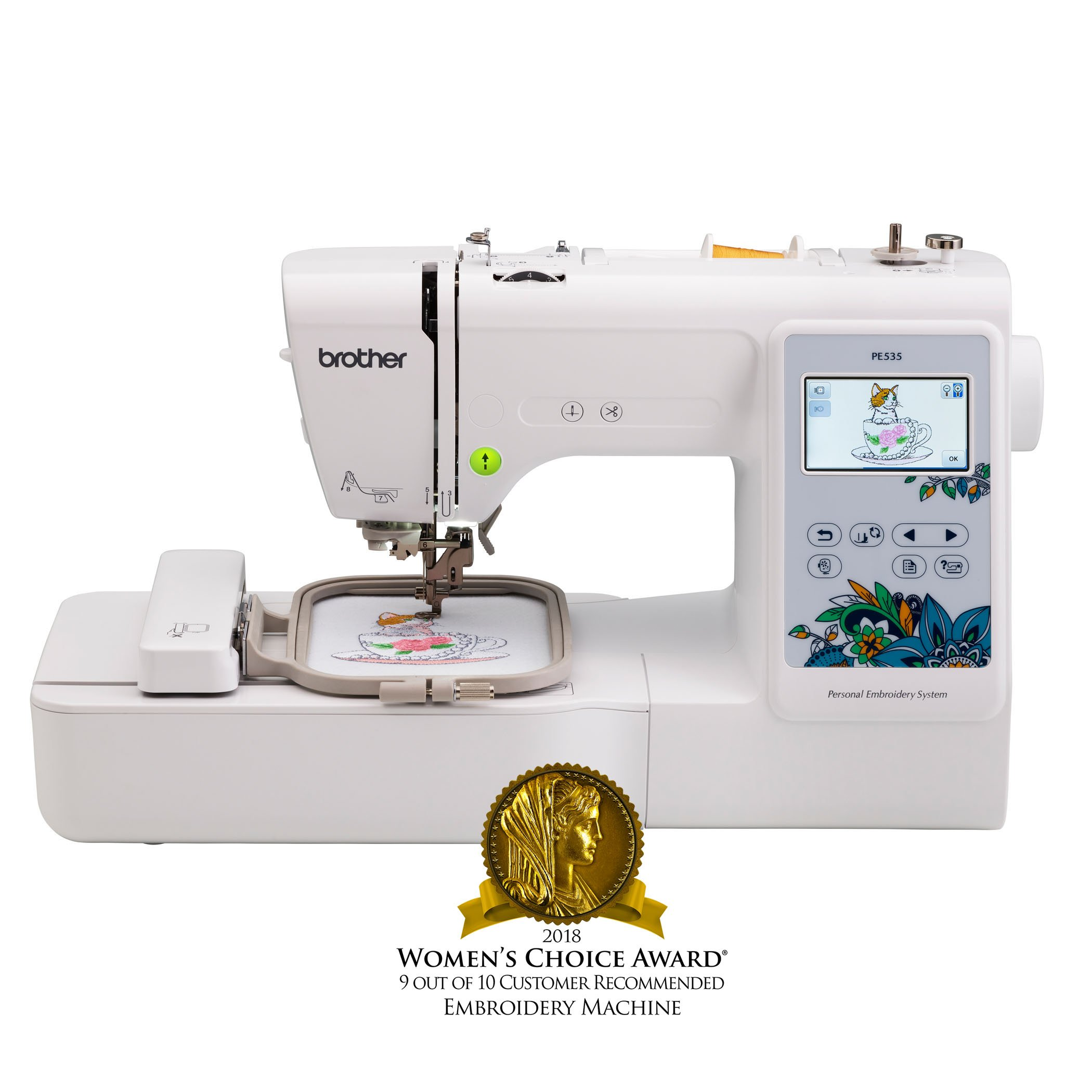 Brother Embroidery PE535 Touchscreen Warranty