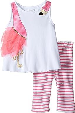 Mud Pie - Flamingo Short Set (Infant)