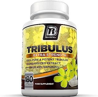 BRI Nutrition Tribulus Terrestris – 180 Count 45% Steroidal Saponins –..