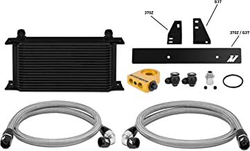 Mishimoto MMOC-370Z-09TBK Nissan 370Z 2009+/Infiniti G37 2008+ Oil Cooler Kit, Black Thermostatic