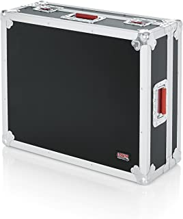 Gator Cases ATA Style Mixer Road Case with Fully Adjustable Interior and Stackable Ball Corners; 20