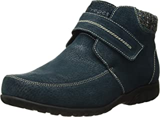 Propet Women's Delaney Strap Ankle Boot Navy size 9.5 M US