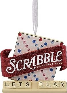 Hallmark Christmas Ornaments, Hasbro Scrabble Game Ornament
