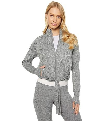 PUMA Studio Adjustable Jacket (Medium Gray Heather) Women