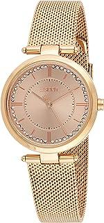 ESPRIT Women's Fashion Quartz Watch - ES1L251M0065; Rose Gold