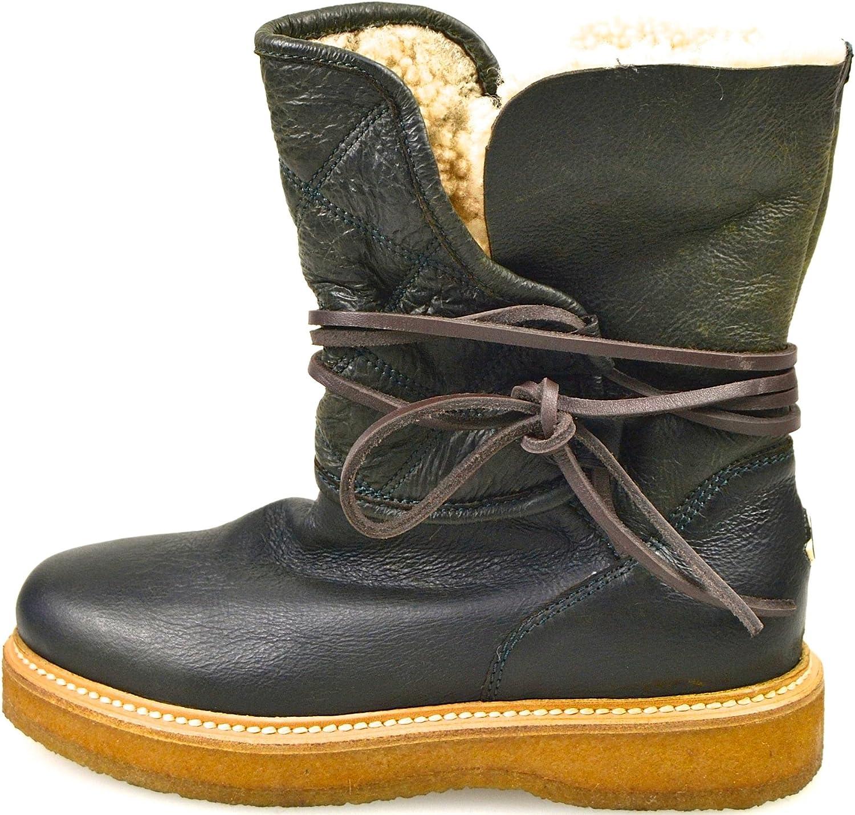 Moncler Woman Ankle Stiefel Dark Code 22 09A 0047430 07102 36 Testa DI MGold - Dark braun