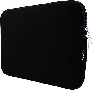 Emartbuy Negro/Midnight Azul Resistente Al Agua Neopreno Soft Zip Case Funda Manga 11.6-13.3 Pulgadas Adecuado para Dispositivos Seleccionados Listados Abajo