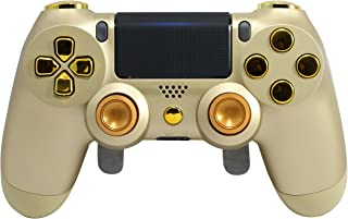 PS4 Elite Controller Adjustable Paddles, Gold PS4 Controller, GM Master Mod, Trigger Stops, Modded Controller Rapid Fire, Drop Shot, Quickscope COD Black Ops 3, Infinite Warfare, MW Remastered