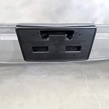 Multiple Manufacturers OE Replacement License Plate Bracket Chevrolet Pickup Chevy Silverado 1500 2014-2015 Partslink GM1068155