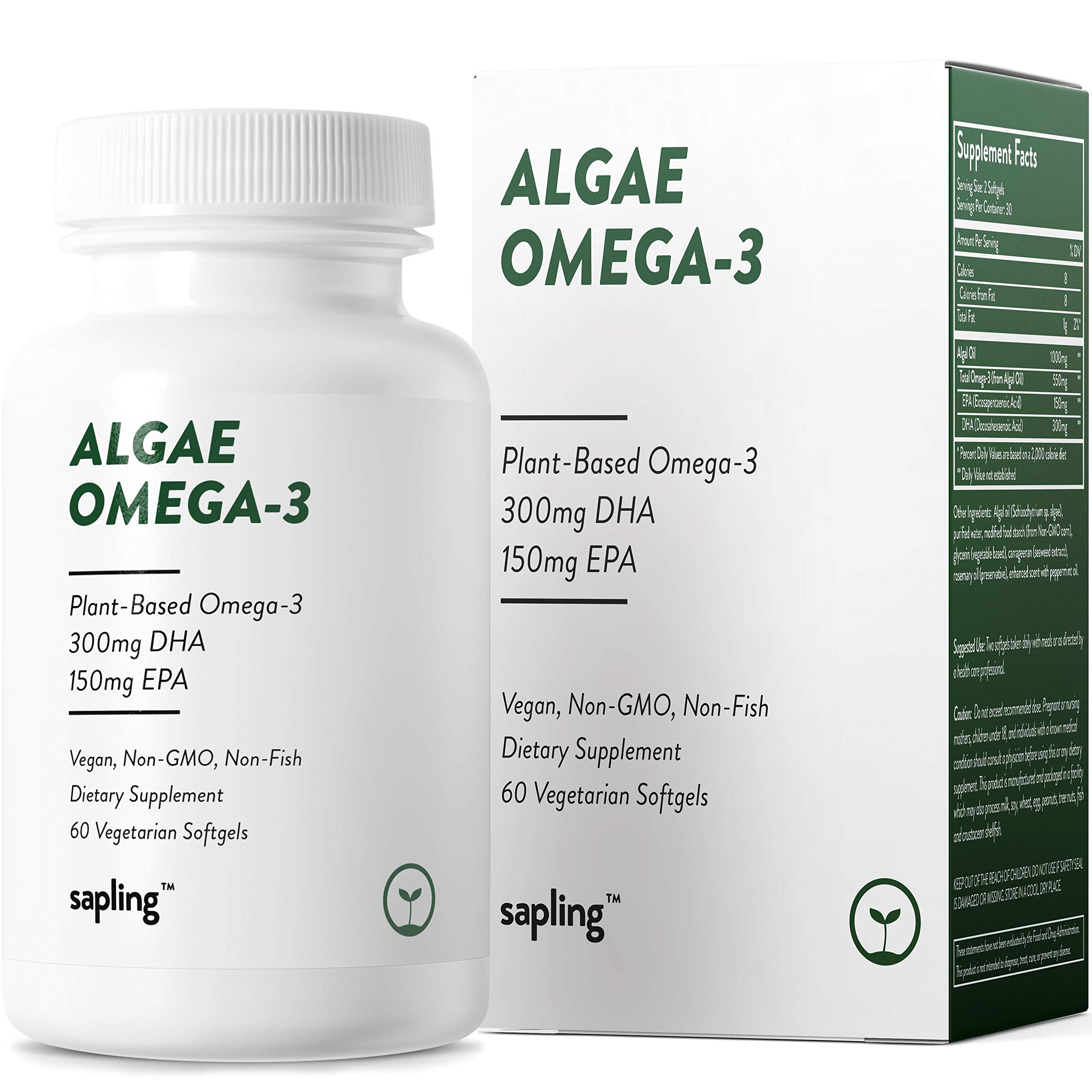 Vegan Omega Supplement Alternative Sustainably