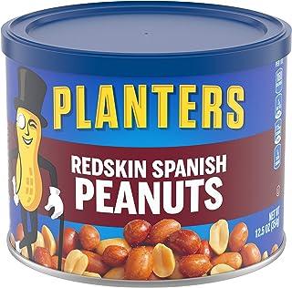 Planters Spanish Redskin Peanuts, 12.5 Oz, Pack of 6