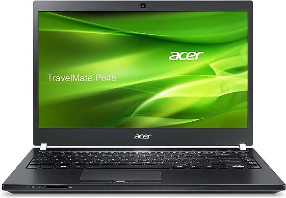Acer TravelMate P645-MG-74518G75tkk 35 6 cm  14 Zoll Full HD  Laptop  Intel Core i7 4510U  2GHz  8GB RAM  500GB HDD  256GB SSD  Win Pro  schwarz