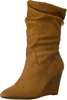 Athena Alexander Women's Nice Ankle Boot, TAN Suede, 9 M US