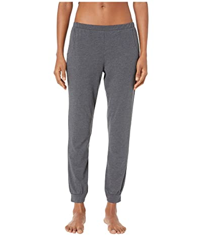 Eberjey Heather The Straight Pants (Charcoal Heather) Women